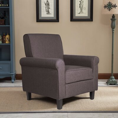 Margaux Accent Chair Upholstery: Brown