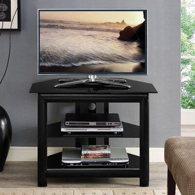 Labrenz 32 TV Stand Color: Black Glass