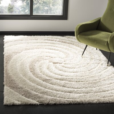 Coolidge Cream/Beige Area Rug Rug Size: Rectangle 51 x 76