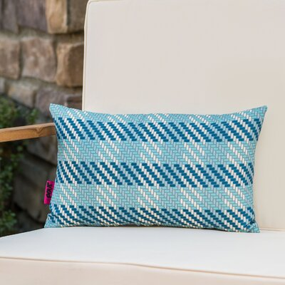 Maytag Plaid Rectangular Outdoor Lumbar Pillow
