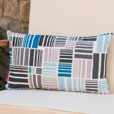 Mayton Geometric Rectangular Outdoor Lumbar Pillow