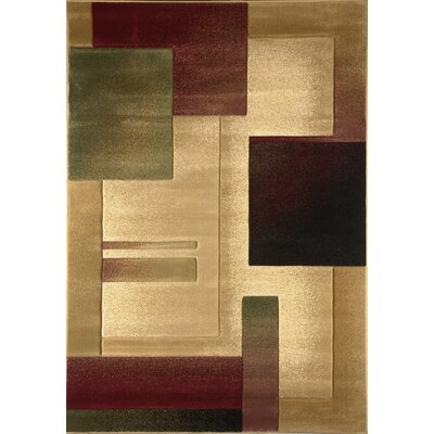 Briley Cream Area Rug Rug Size: 33 x 52