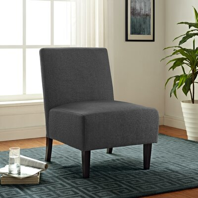 Cavanaugh Slipper Chair Upholstery: Charcoal