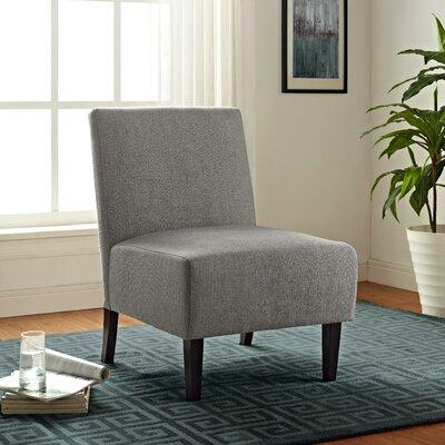 Cavanaugh Slipper Chair Upholstery: Gray