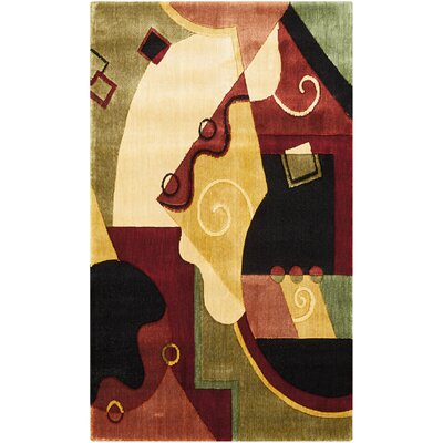 Bouck Atwood Multi Area Rug Rug Size: Rectangle 23 x 39