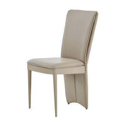 Edwards Upholstered Dining Chair (Set of 2) Upholstery Color: Taupe