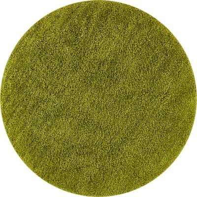 Dondre Green Indoor Area Rug Rug Size: Round 710