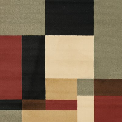 Charis Geometric Woven Area Rug Rug Size: Rectangle 53 x 77