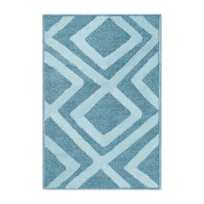 Darroll Flagstone Blue Area Rug Rug Size: Rectangle 2 x 3