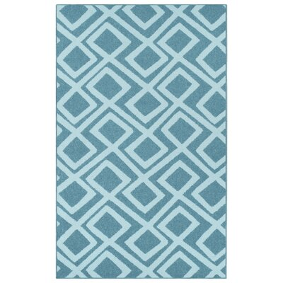 Darroll Flagstone Blue Area Rug Rug Size: Rectangle 4 x 6