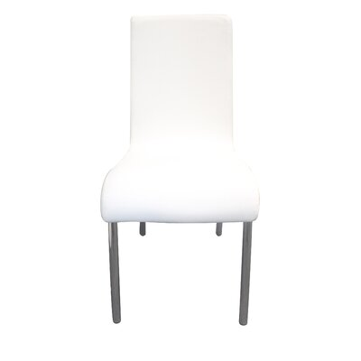 Osullivan Upholstered Dining Chair Upholstery Color: White