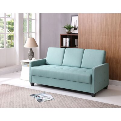 Edinburg Sofa Upholstery: Teal