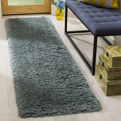 Stoffel Blue Area Rug Rug Size: Runner 2 x 8