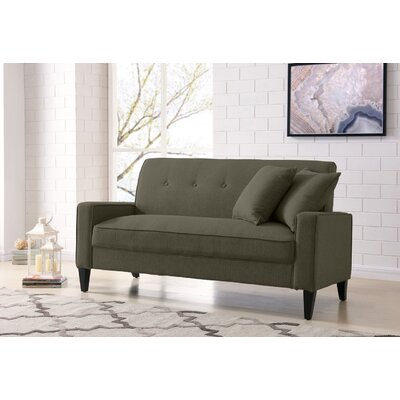 Petterson Sofa Upholstery: Basil Green