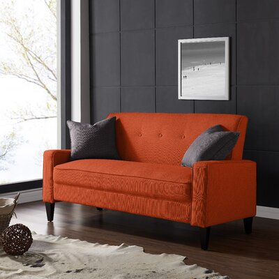 Petterson Sofa Upholstery: Orange