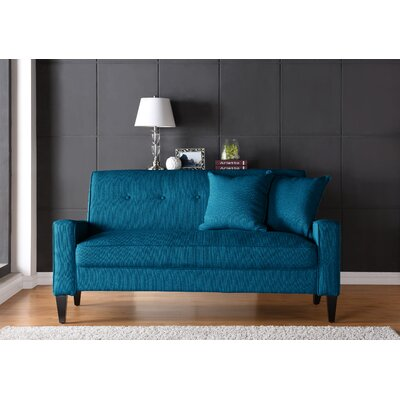 Petterson Sofa Upholstery: Peacock Blue