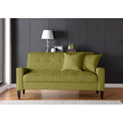 Petterson Sofa Upholstery: Green
