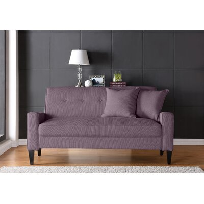 Petterson Sofa Upholstery: Purple