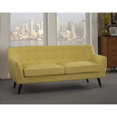 Paschal Sofa Upholstery: Yellow