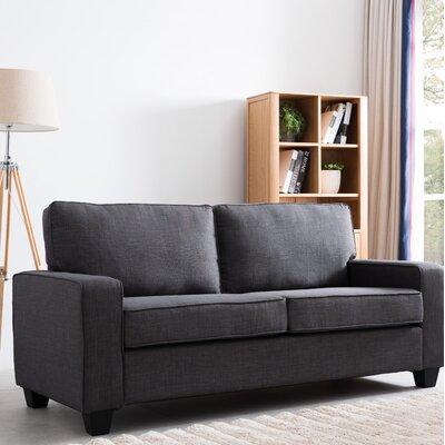 Paulk Modern Sofa Upholstery: Gray