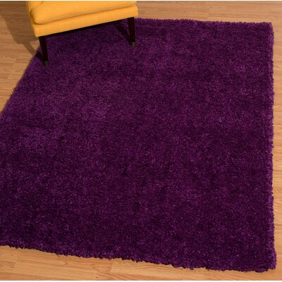 Mullenix Purple Area Rug Rug Size: Rectangle 53 x 72