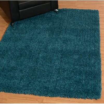 Mullenix Teal Area Rug Rug Size: Rectangle 53 x 72