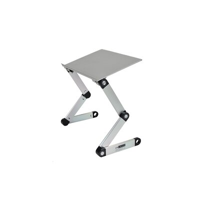 Avery 18 H x 17 W Rotating Laptop Stand Finish: Silver
