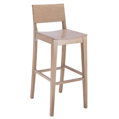 Entrekin 30 Bar Stool Finish: Natural