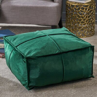 Florman Pouf Upholstery: Emerald