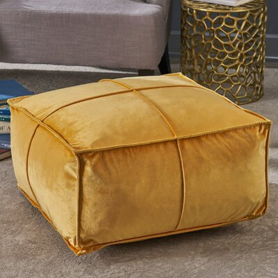 Florman Pouf Upholstery: Honey