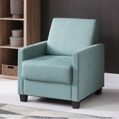 Edinburg Armchair Upholstery: Teal