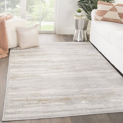 Safire Birch/Chateau Gray Area Rug Rug Size: Rectangle 2 x 3