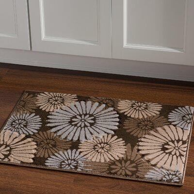 Carina Brown/Sand Area Rug Rug Size: Rectangle 110 x 210