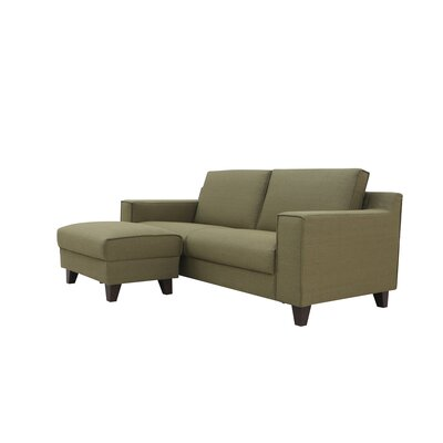Nordstrom Fashion Sleeper Sofa Upholstery: Green
