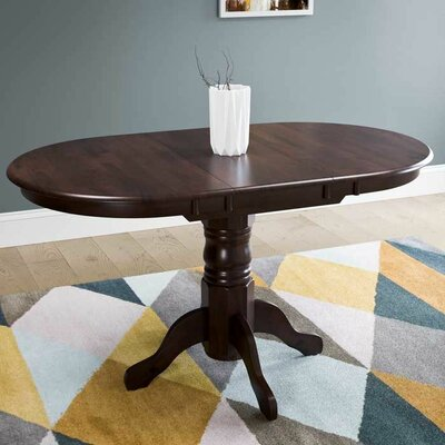 Liggett Classic Extendable Dining Table Finish: Cappuccino