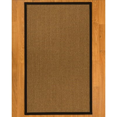 Ava Hand-Woven Beige Area Rug Rug Size: Rectangle 8 x 10
