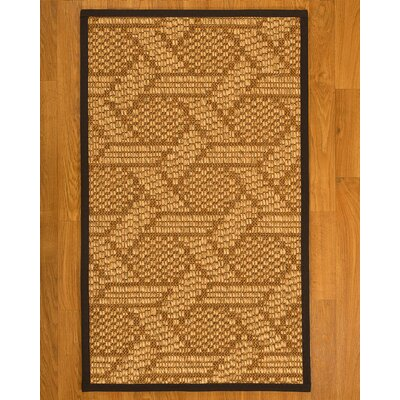 Aalin Hand-Woven Beige Area Rug Rug Size: Rectangle 4 X 6