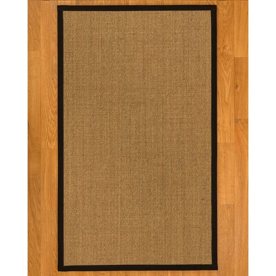 Aspasia� Hand-Woven Beige Area Rug Rug Size: Rectangle 3 x 5