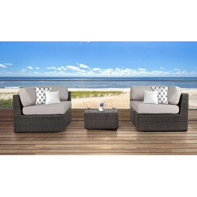 Arcole 5 Piece Lounge Set with Cushion