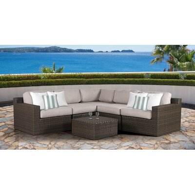 Arcole 6 Piece Deep Seating Group with Cushion