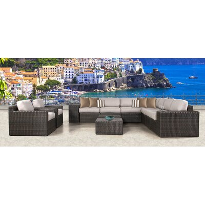 Arcole 13 Piece Deep Seating Group with Cushion