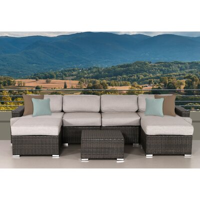 Archway 7 Piece Deep Seating Group with Cushion
