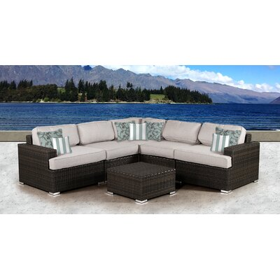 Archway 6 Piece Deep Seating Group with Cushion