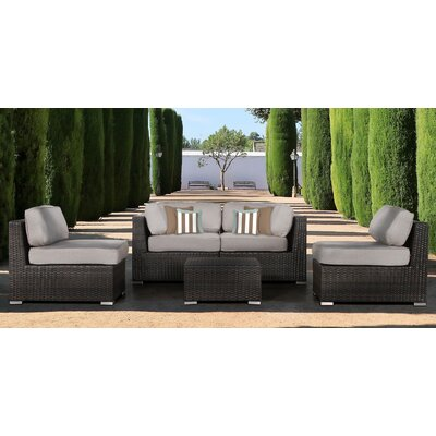 Archway 5 Piece Seating Group with Cushion