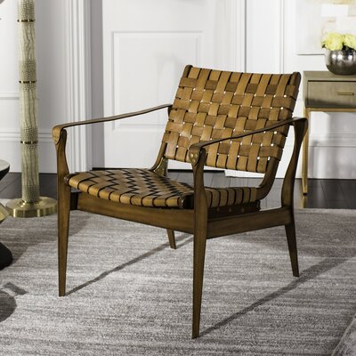 Sheldon Armchair Upholstery: Brown