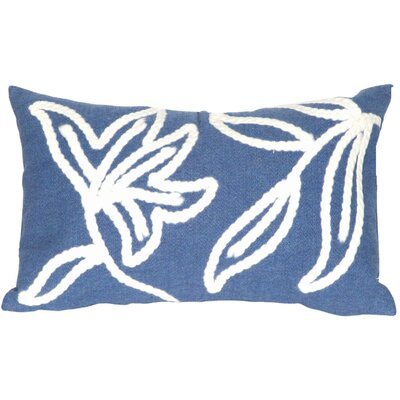 Winchell Windsor Lumbar Pillow Color: Blue