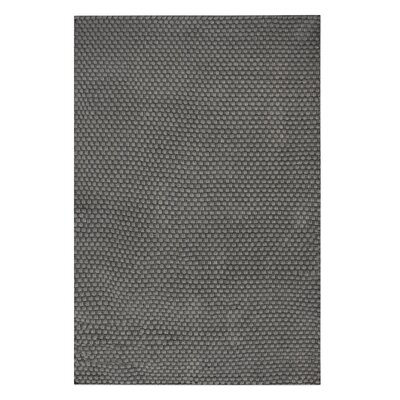 Drey Hand-Woven Dark Gray Indoor/Outdoor Area Rug Rug Size: 5 x 8