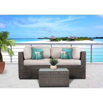 Weehawken 3 Piece Conversation Set With Cushions BBZE3807 42356269
