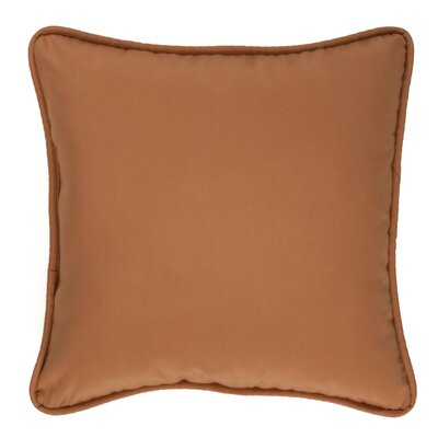 Revathi Cotton Throw Pillow Color: Orange
