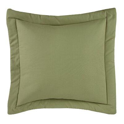 Revathi Euro Sham Color: Green, Size: 31 H x 31 W x 0.25 D